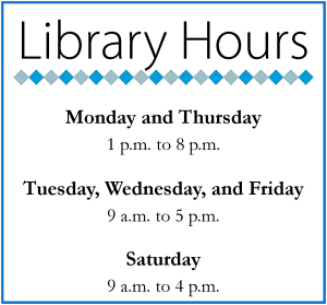 Library Hours 1/2/14