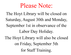 Sept 2014 Closing