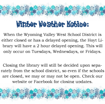 winter weather notice