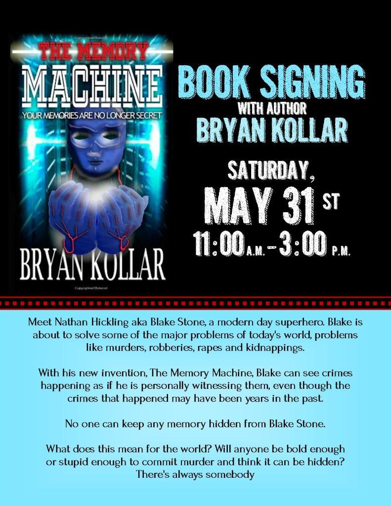 Bryan Kollar Book Signing