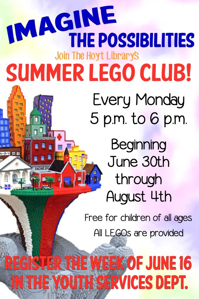 Summer Lego Club